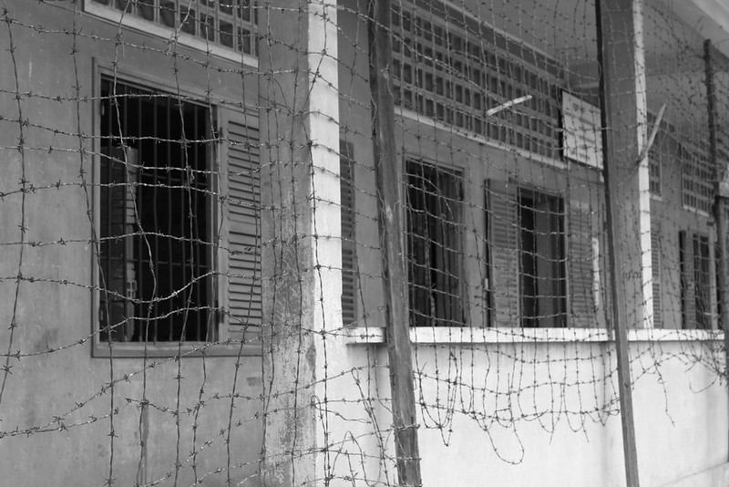 S21, where the Khmer Rouge imprisoned people