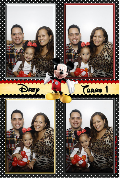 Drey's 1st Birthday (Luxe Booth)