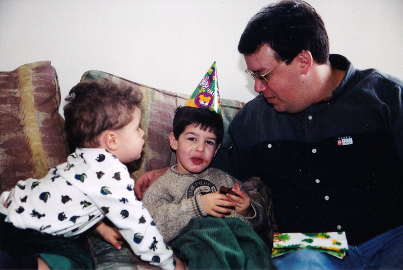 2000-12 Noah, Josh (with birthday hat), Seth.jpg