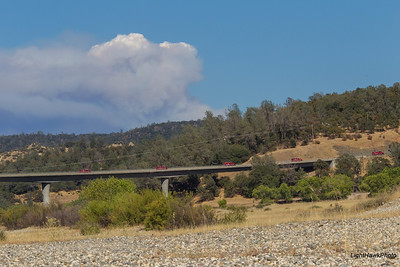 Lowell Hill Fire 2015