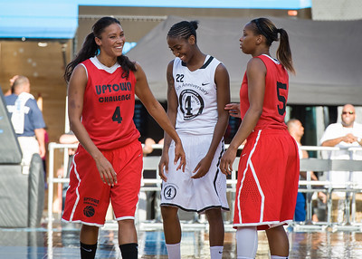 NIke Women's Challenge: West 4th St. All Stars (White) v Uptown Challenge (Red)