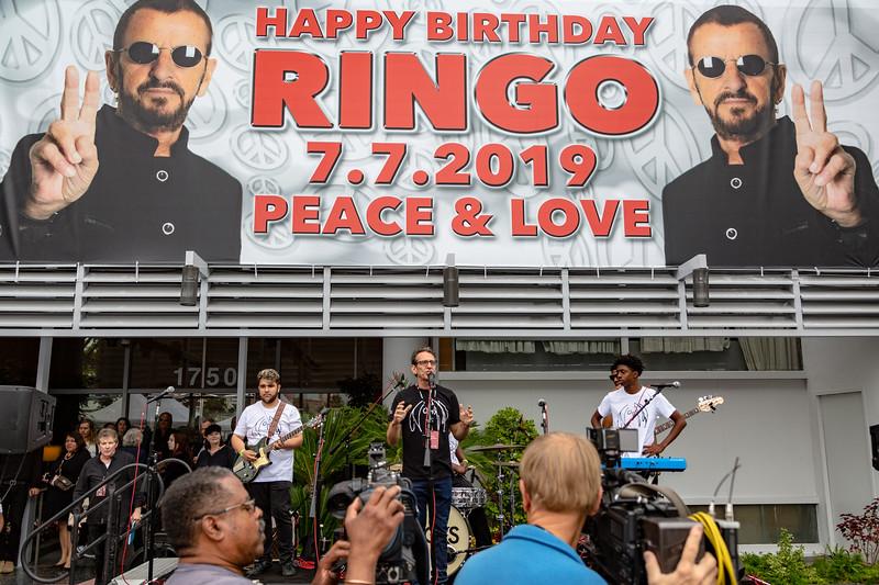 2019_07_07, Birthday, CA, Capitol Records, Los Angeles, Ringo, Brian Rothschild