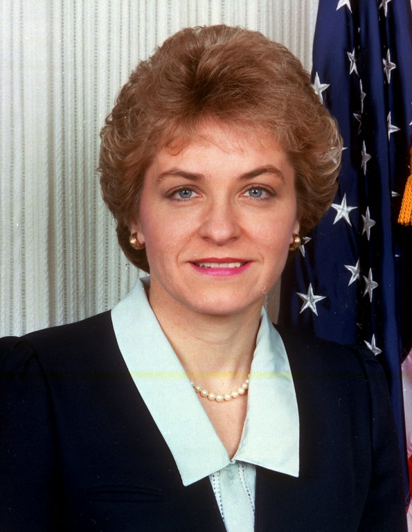 . A 1989 photo of Rep. Marcy Kaptur of Ohio.(AP Photo/ho)