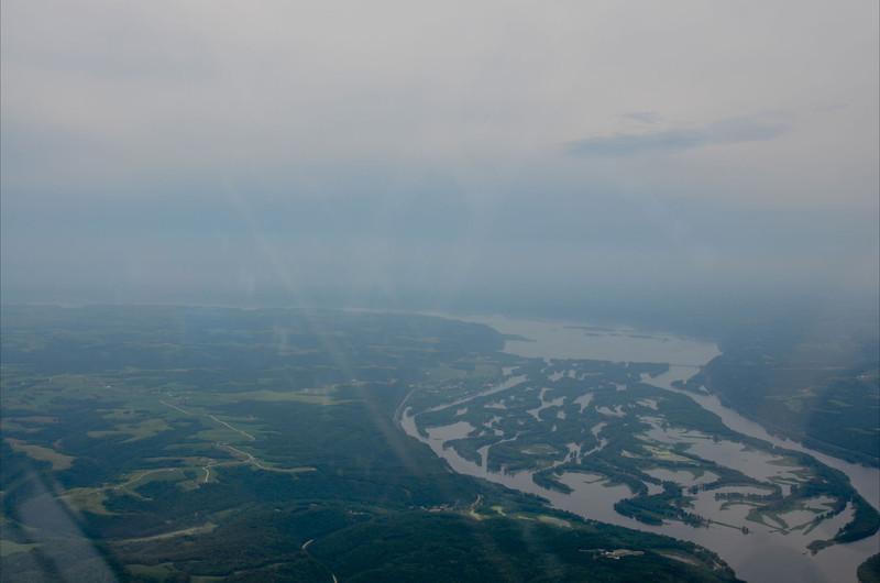 Upper Mississippi, last leg to Oshkosh