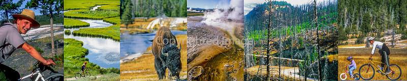 Yellowstone National Park - Cyclists & Scenics