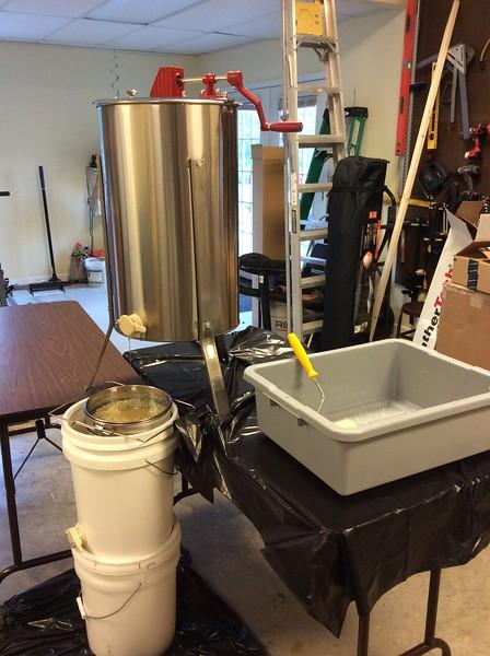 2015 Honey Extraction
