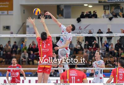 7ª ritorno #SuperLega «Diatec Trentino - Bunge Ravenna»