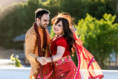 Tasleen and Vaibhav - Romance