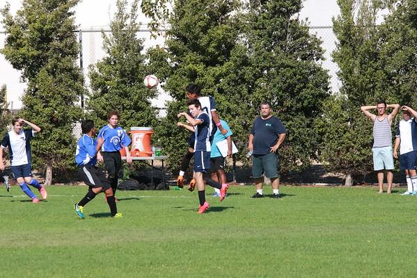 Soccer vs Mesrobian 9/8/15
