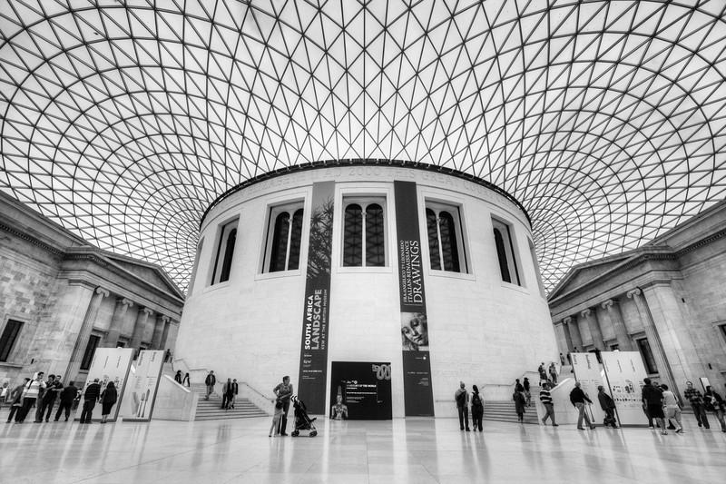 The Grand Atrium at the British Museum