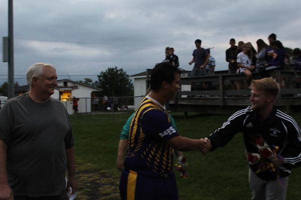 '18 Berkshire Boys Soccer Senior Night