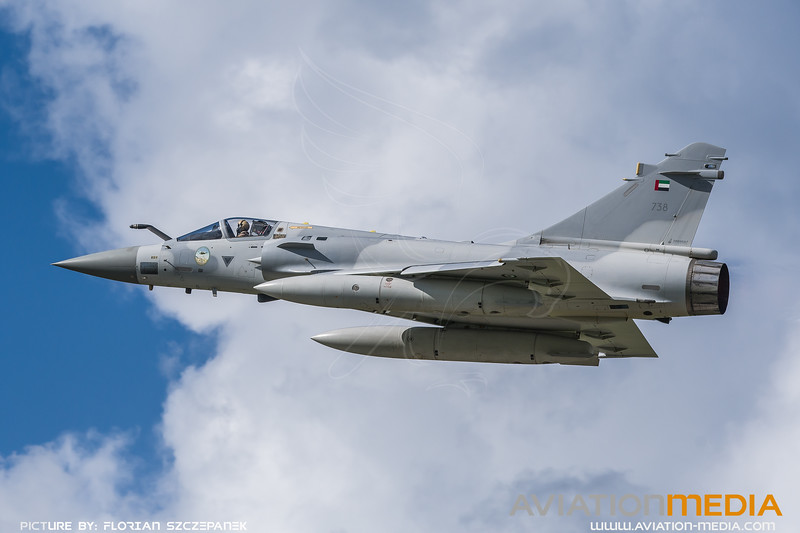UAE Air Force / Dassault Mirage 2000-9 / 738