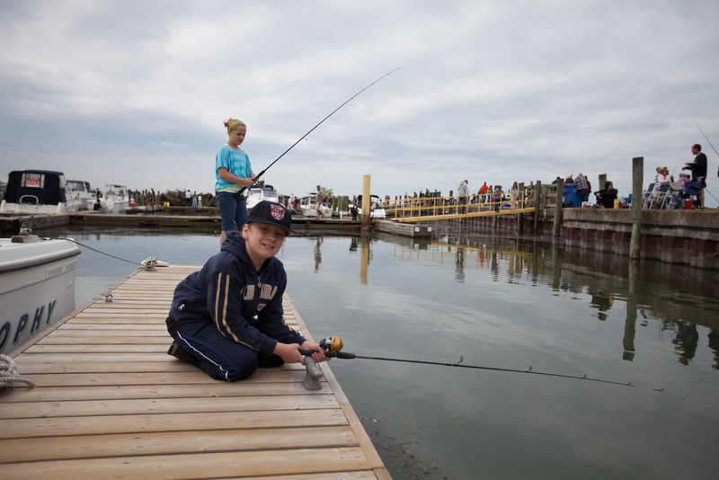 2013 Colchester Fishing Derby hosted by the Lions Club