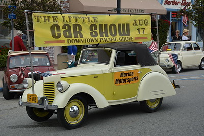 The Little Car Show 2016 Pacific Grove, CA