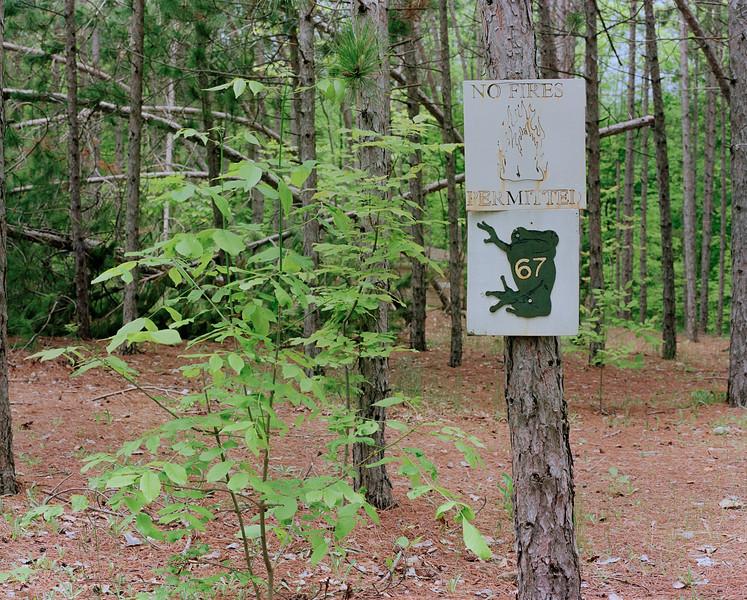 Camp #67 Sign