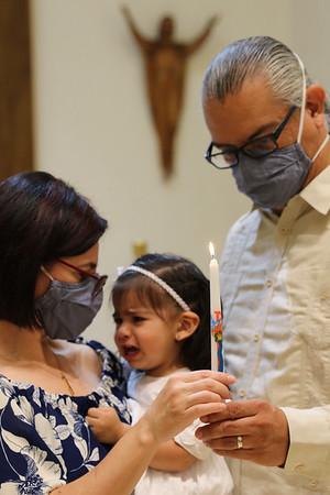 Eliana's Baptism 8/28/21