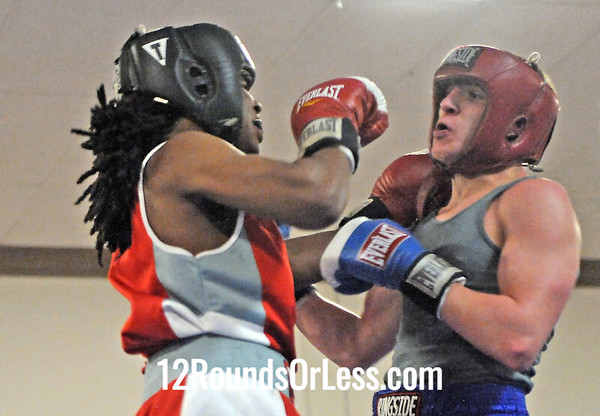 Bout 11 Lucien Clinkscale, Downtown Boxing -vs- Tyler Smith, Southside Boxing Academy 132 lbs