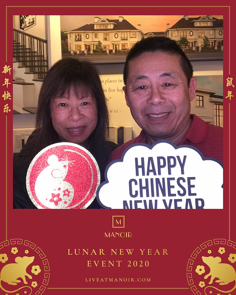 Manoir Lunar New Year