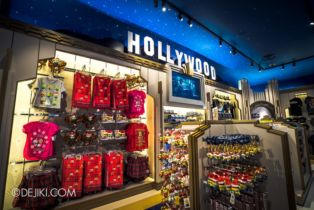 Universal Studios Singapore - Silver Screen Store - Movies collection, Minions Christmas