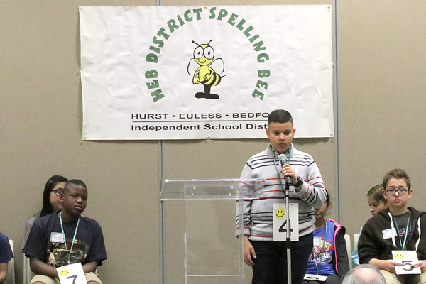 District Spelling Bee 2017
