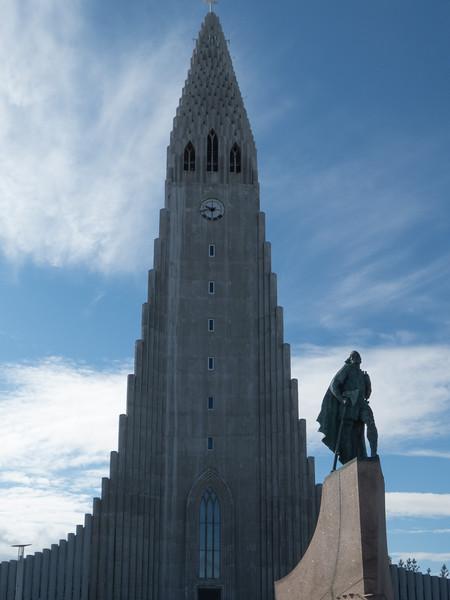 Hallgrímskirkja Lutheran Church. Reykjavik