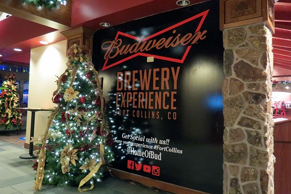 November 22:  The Anheuser-Busch plant in Fort Collins .  .  .