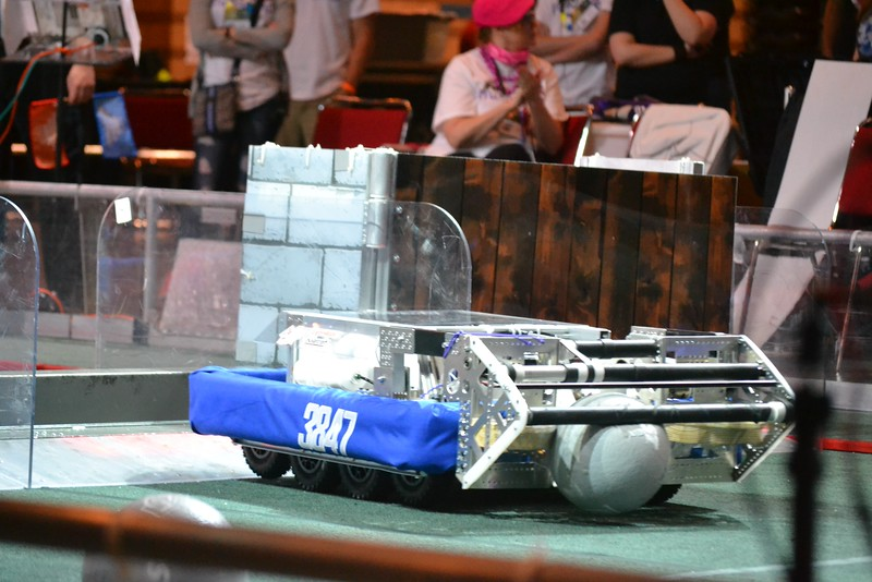 2016 First Bayou Regional Robotics Competition - Bouvier - 627