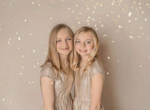 Ashlyn & Kilee - Glitter Session 2020