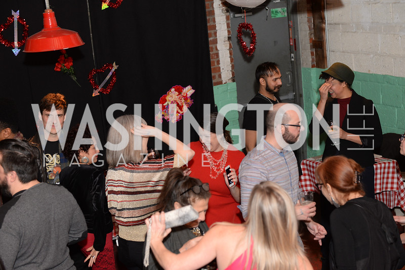 Transformer's 2nd Annual Heartbreaker's Ball, Comet Ping Pong, February 17, 2018, photo by Ben Droz.