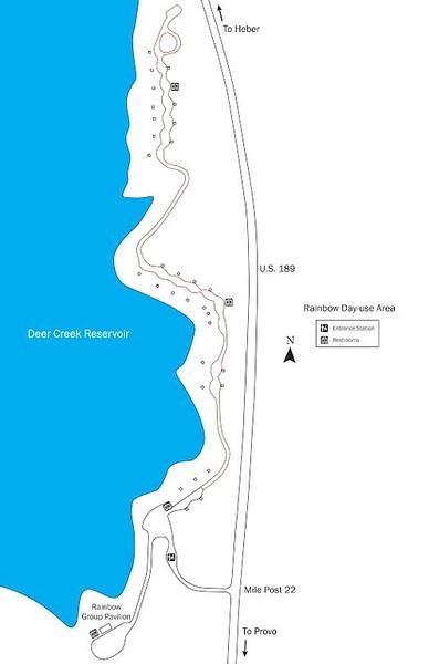 Deer Creek State Park (Rainbow Bay Day Use Area)