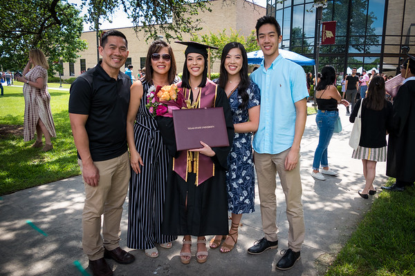 Megan's Texas State University Graduation