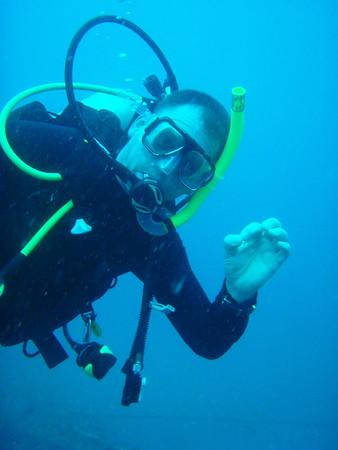 Skuba diving in Malasya