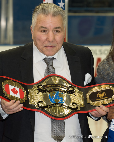 50th Aniversary of George Chuvalo / Mohammad Ali Fight