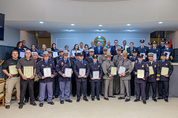 2019 Town of Wappinger First Responder Awards Night