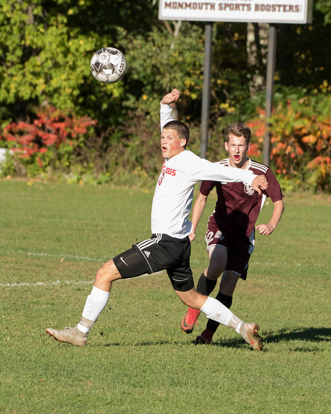 Boys Soccer:  Hall-Dale vs Monmouth