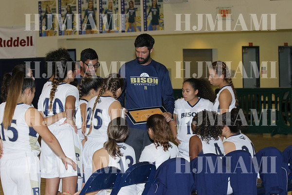 Reagan Varsity Girls Basketball 11/21/17