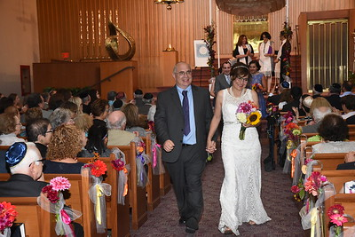 Esther and Rob at Mount Zion Temple, St. Paul