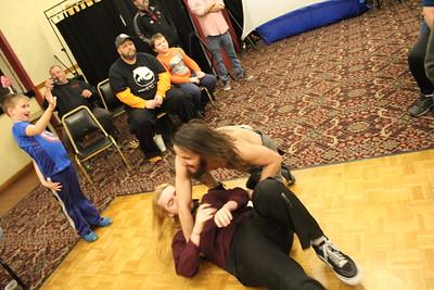 NCW Tag Team Championship Ike & Tim Davidson vs. Little Giants