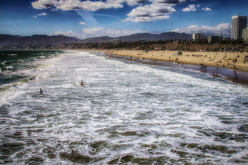 April 26 - Low Tide_ Santa Monica.jpg