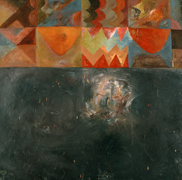 Painted Wall #19 (1995)
