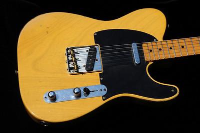 """1952 Fender Telecaster: """"Black Betty"""""""