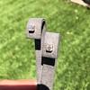 .52ctw Asscher Cut Diamond Bezel Stud Earrings, 18kt Rose Gold 14