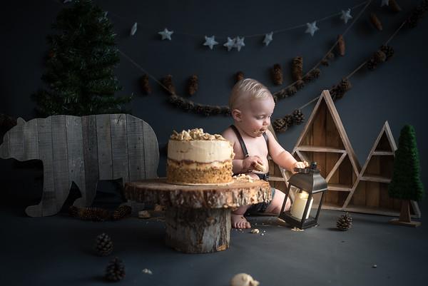 Bear Cake Smash!