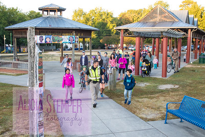Carrboro Walk-Bike to School 2017