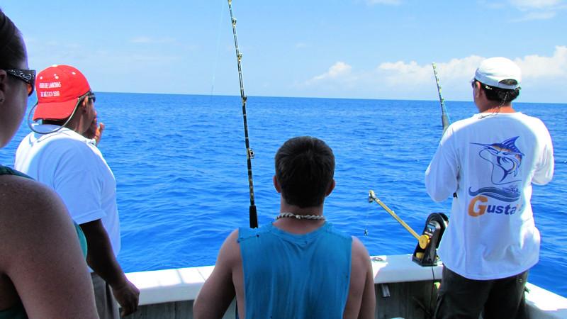 Sport fishing in La Paz Mexico