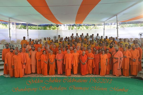 Golden Jubliee Celebrations Sandeepany Chinmaya Mission. Jan 2013
