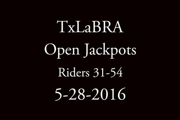 5-28-2016 TxLaBRA 'Open jackpots' Riders 31-54