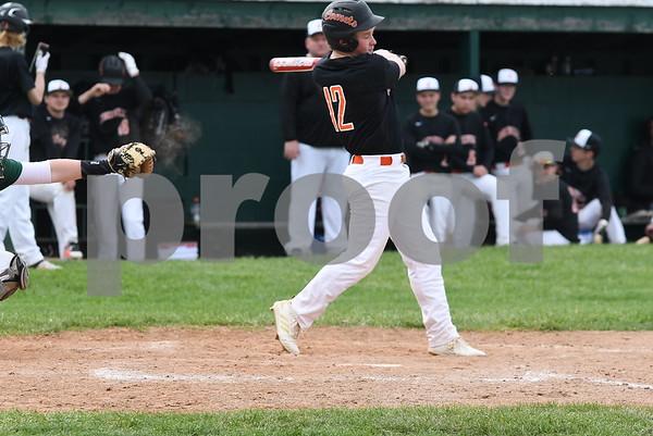 Napoleon vs Jonesville Baseball 4-25-19