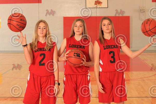 2019 Lorena Junior High Basketball Teams