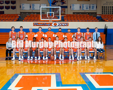 2018 -2019 Marshall County High School Boys Varsity Basketball